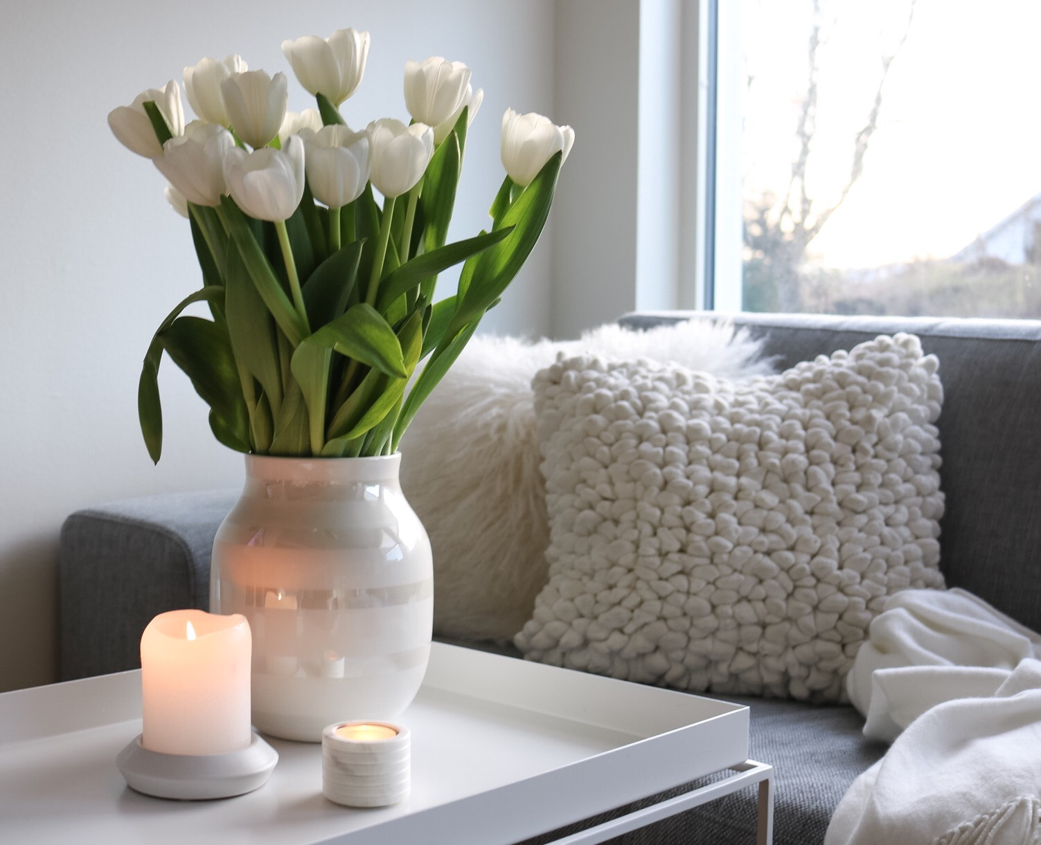 Crispy tulipaner og Kähler