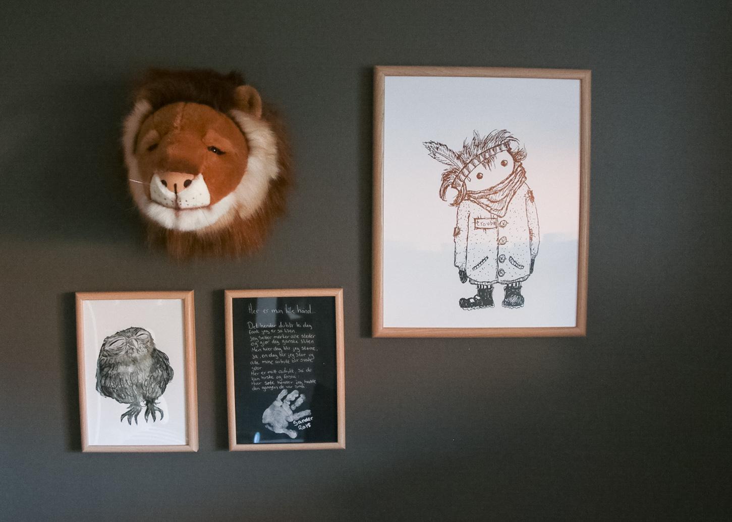 Lion Heart - Barnerommet til Sander er ferdig! • HVITELINJER BLOGG -