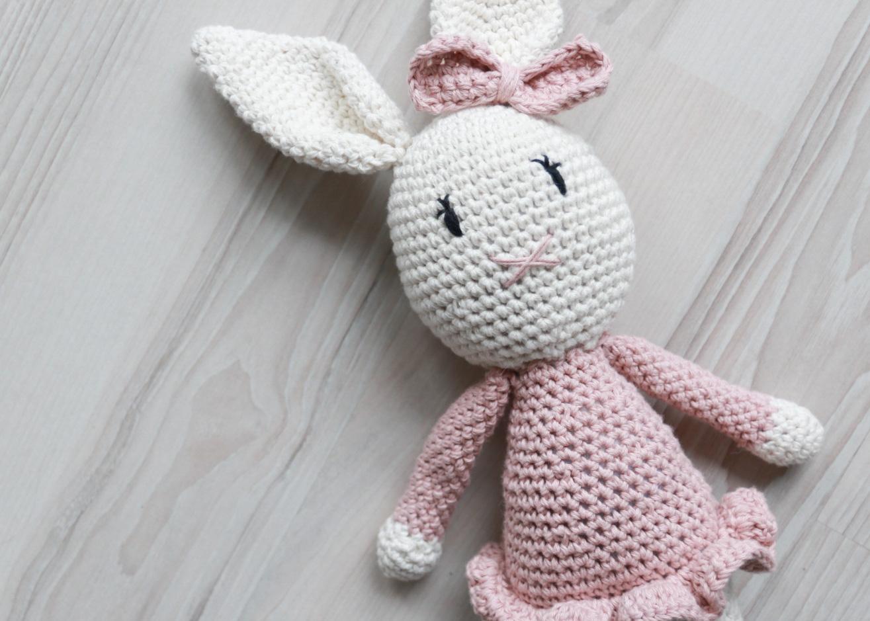 Sara Kanin (Hekle oppskrift kanin) - HVITELINJER BLOGG