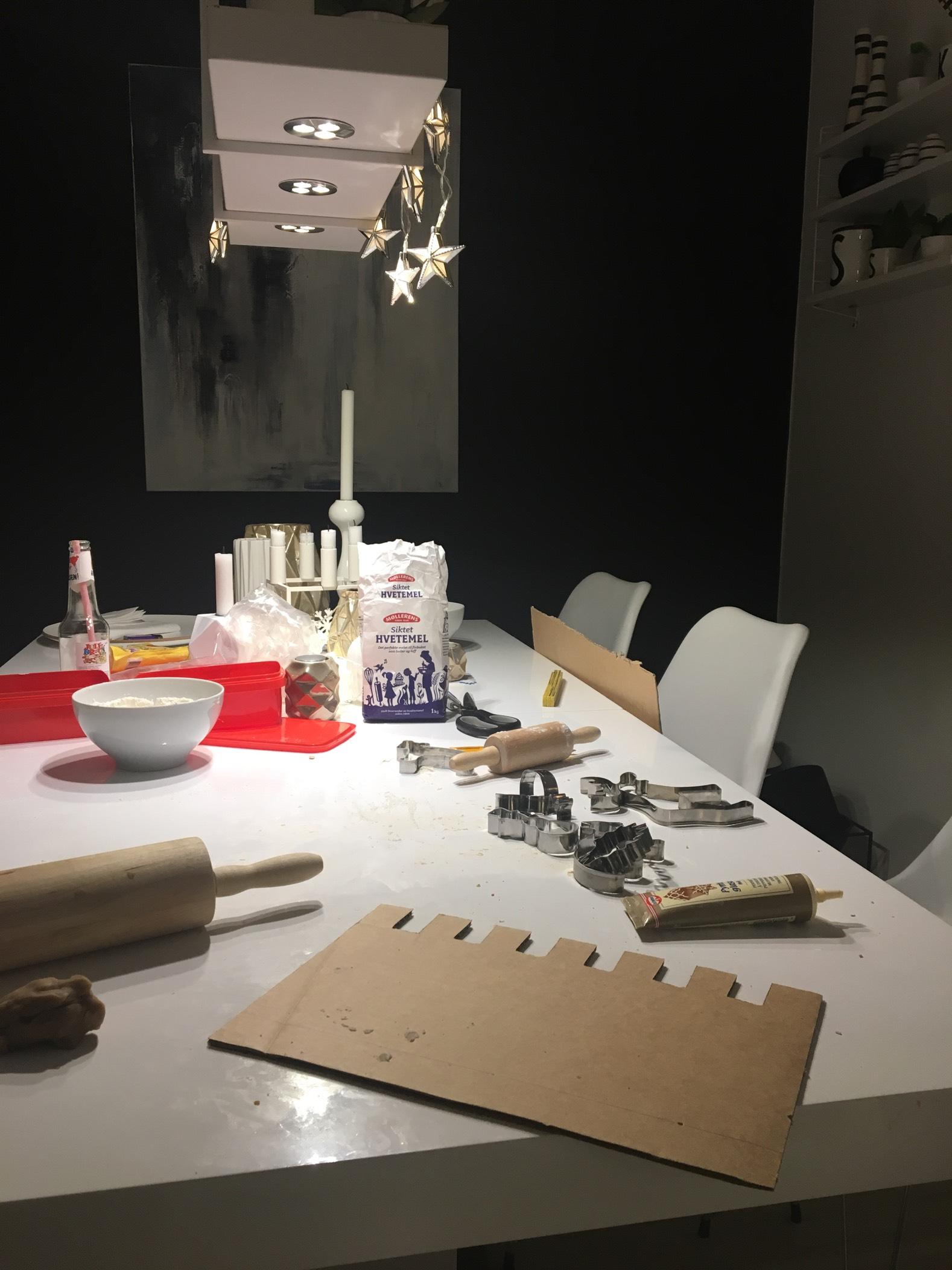 Prosjekt Pepperkakeborg ⚔️