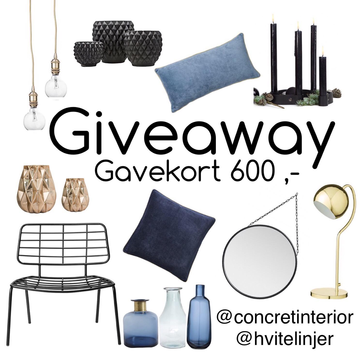 Giveaway – Gavekort