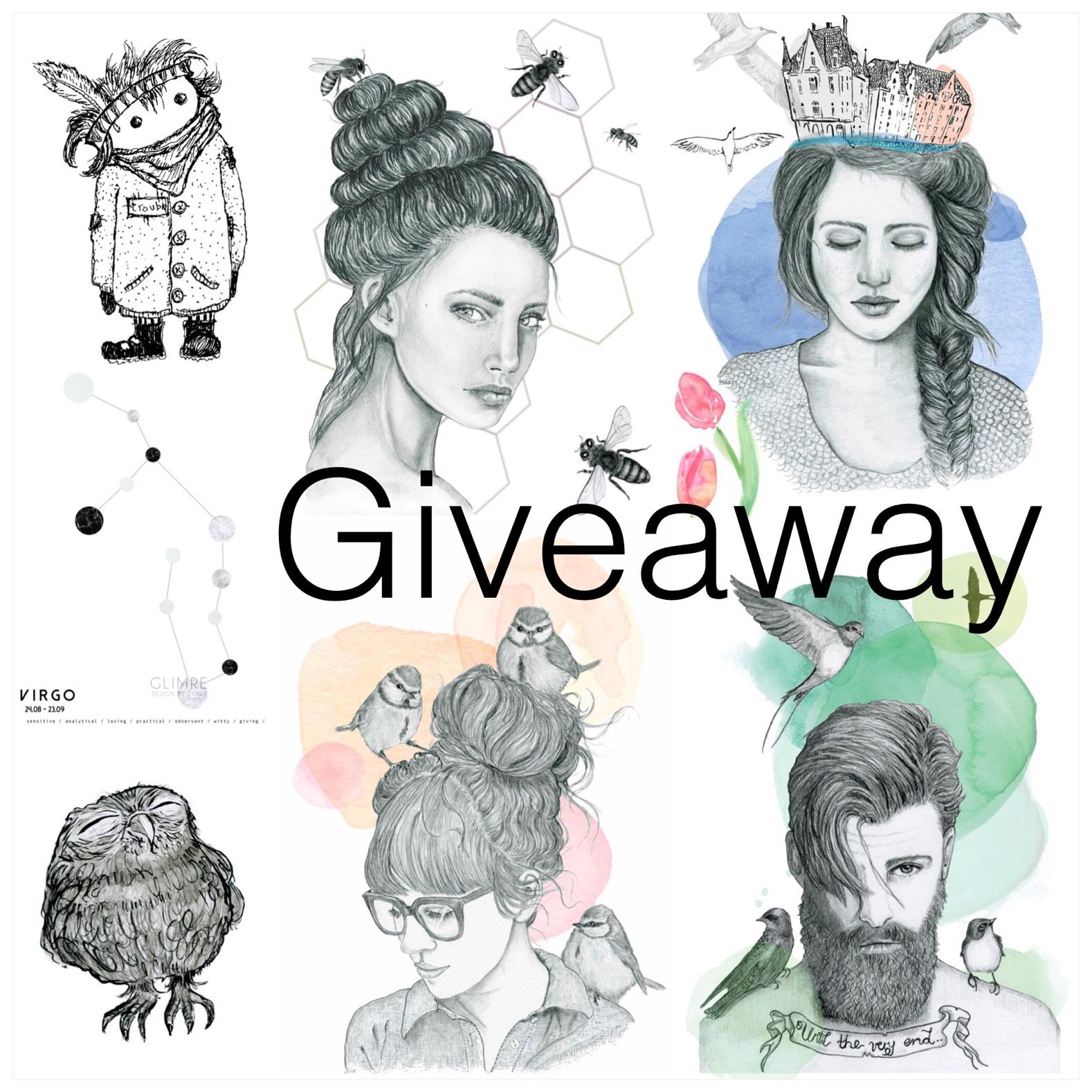 Giveaway – Valgfri plakat fra Glimre design