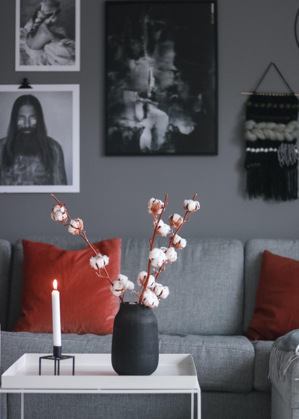 Endringer på stueveggen og noen gode tips • HVITELINJER BLOGG -