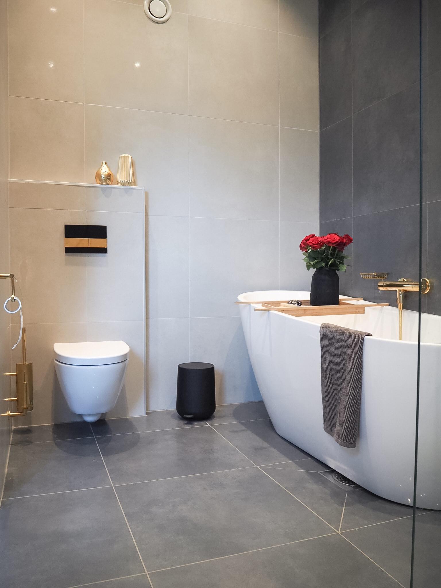 Badet - Mitt favoritt rom i huset - HVITELINJER BLOGG
