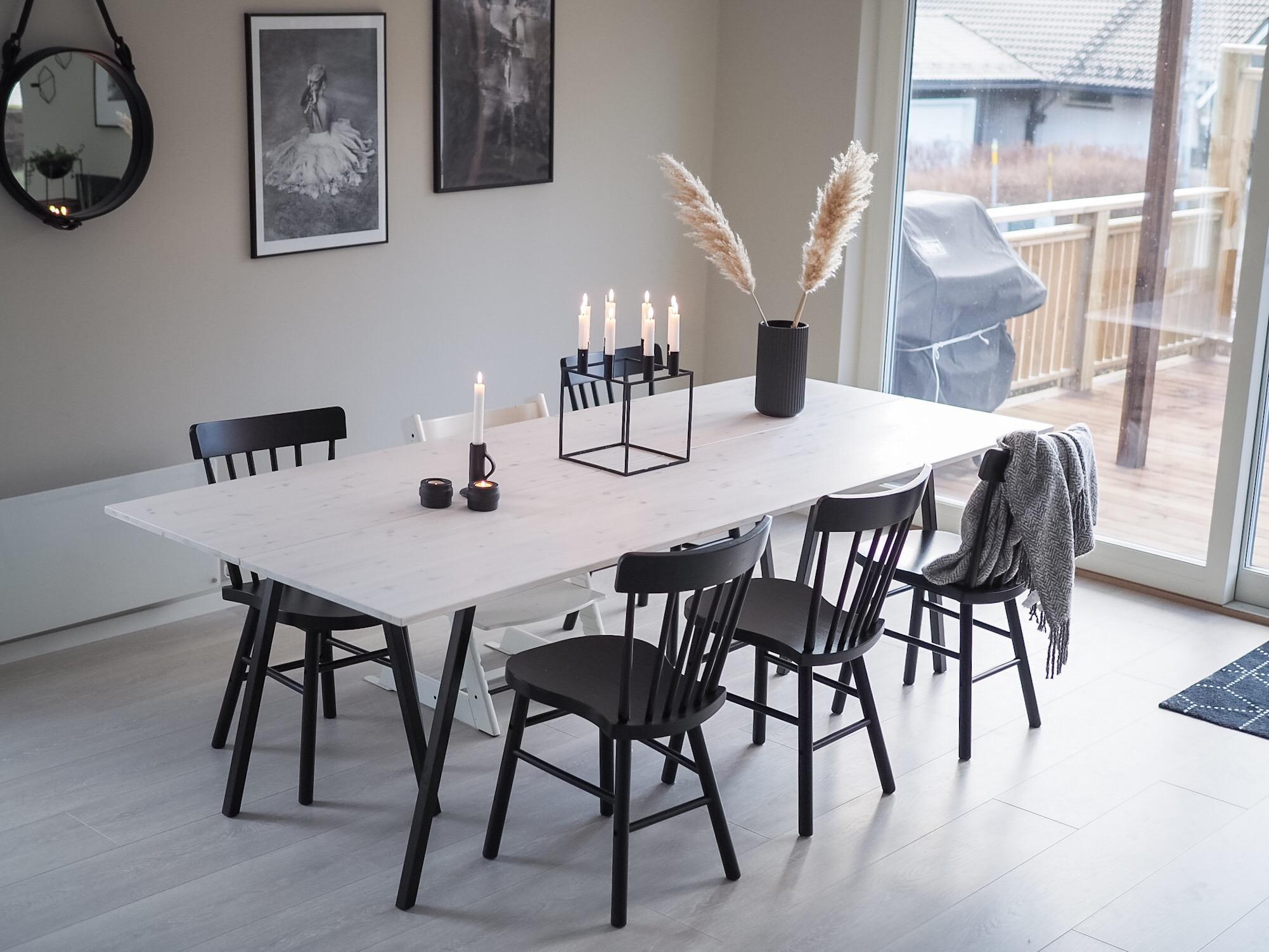 Spisebord – DIY