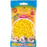 Hama Midi Perler - Yellow (1000 stk)