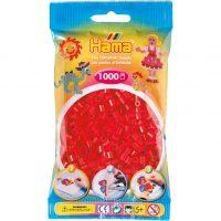 Hama Midi Perler - Red (1000 stk)