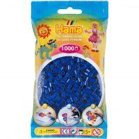 Hama Midi Perler - Blue (1000 stk)