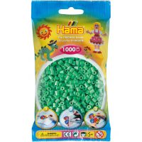 Hama Midi Perler - Light Green (1000 stk)