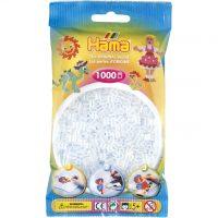Hama Midi Perler - Clear (1000 stk)