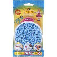 Hama Midi Perler - Pastel Blue (1000 stk)