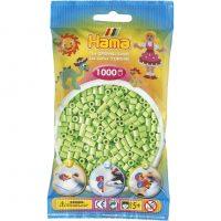 Hama Midi Perler - Pastel Green (1000 stk)