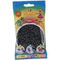 Hama Midi Perler - Dark Gray (1000 stk)